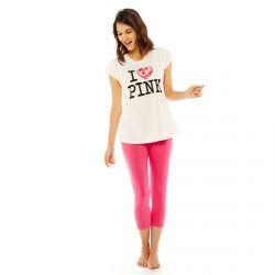 Pyjama blanc/rose Pink Panther