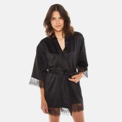 DALLAS Kimono noir Dallas