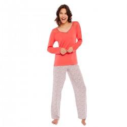 AMSTRAMGRAM Pyjama grenadine/ivoire