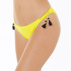 MAMBO Slip de bain jaune/marine by Brigitte Bardot