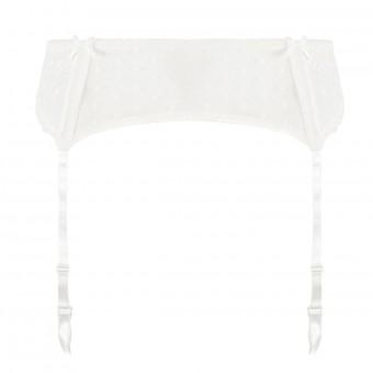 Porte-jarretelles ivoire Classic